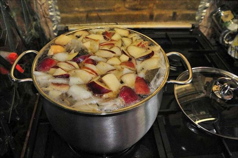 Компот из яблок в мультиварке. как сварить компот из яблок в мультиварке. рецепты приготовления компота из яблок в мультиварке