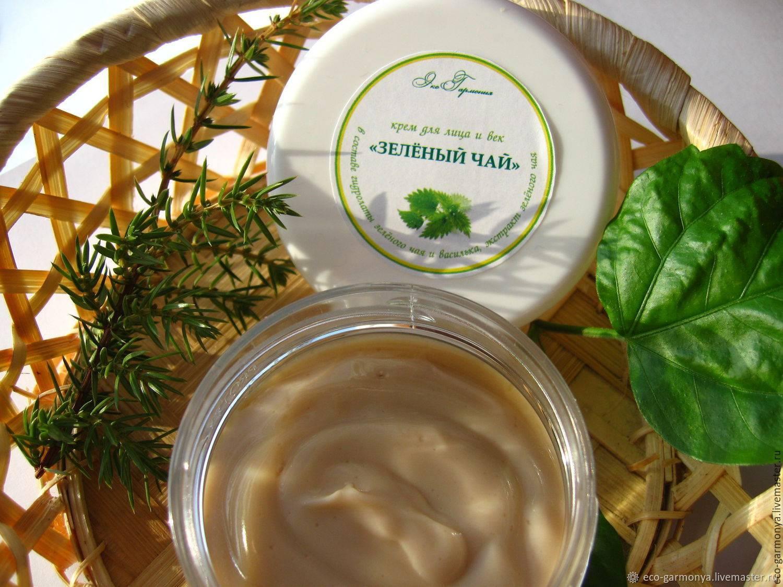 Зеленый чай для кожи лица