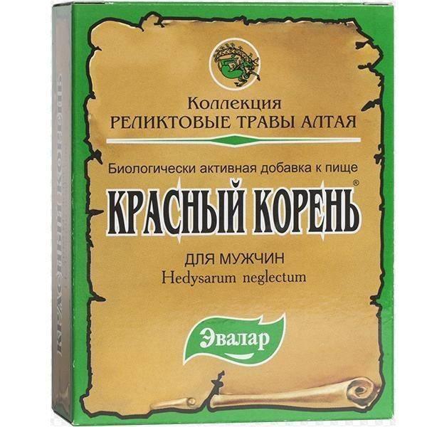 Красный корень: 15 лечебных свойств для мужчин, инструкция по применению настойки, таблеток, отвара и других средств, цена и отзывы
