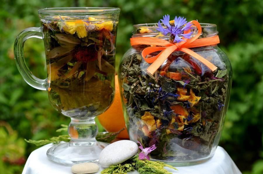 Травяной чай польза и вред