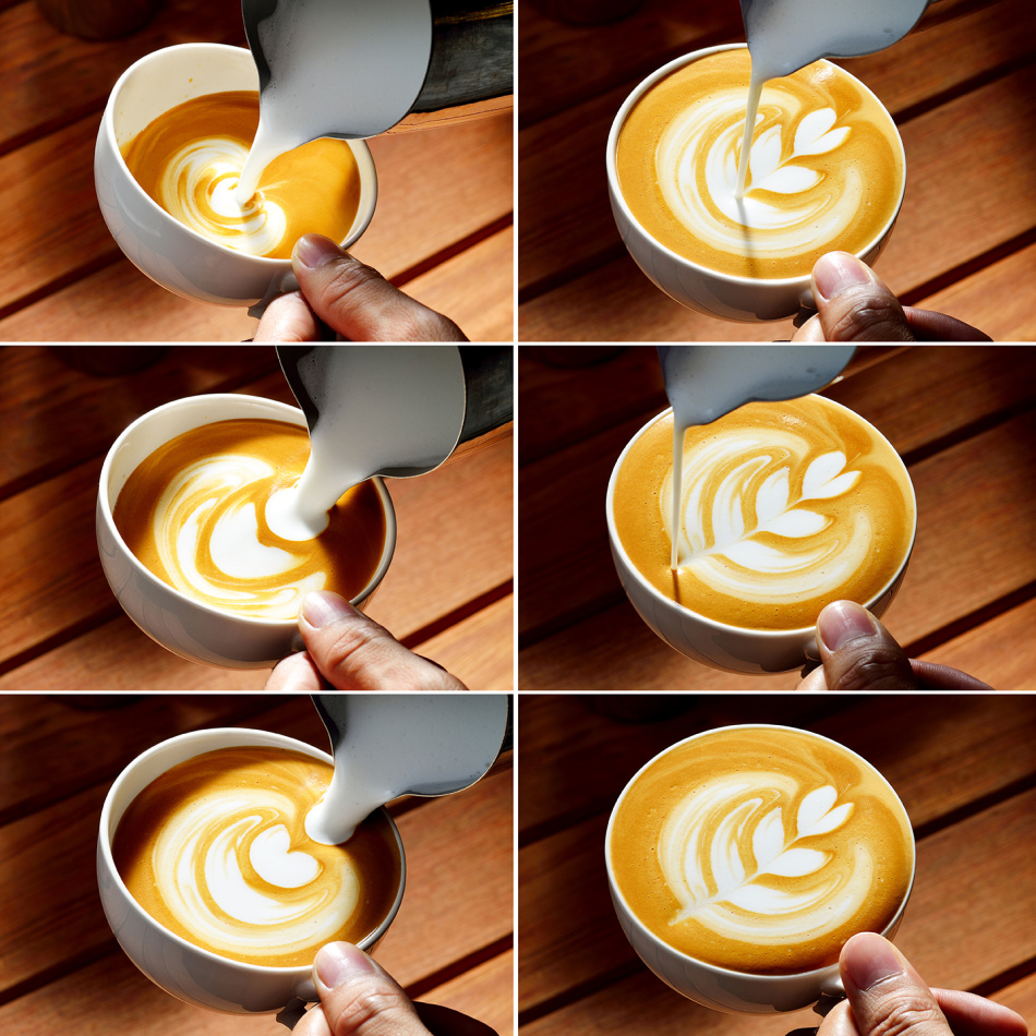 Латте-арт — искусство создания рисунков на кофе