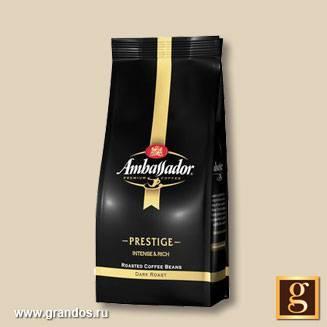 Кофе амбассадор (ambassador): описание, история и виды марки