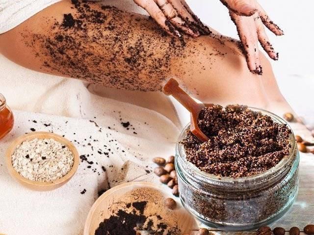 Приготовление кофейного скраба от целлюлита