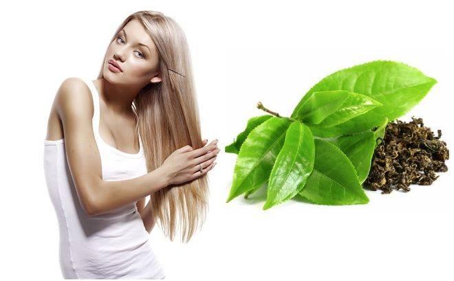 Чем полезен натуральный черный и зеленый чай для волос.