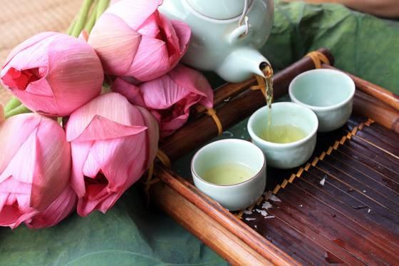Чай из лотоса: виды, свойства, способы заваривания