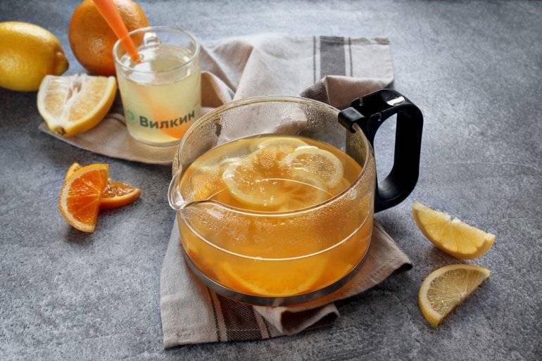 Компот из яблок с апельсинами — пошаговый рецепт с фото