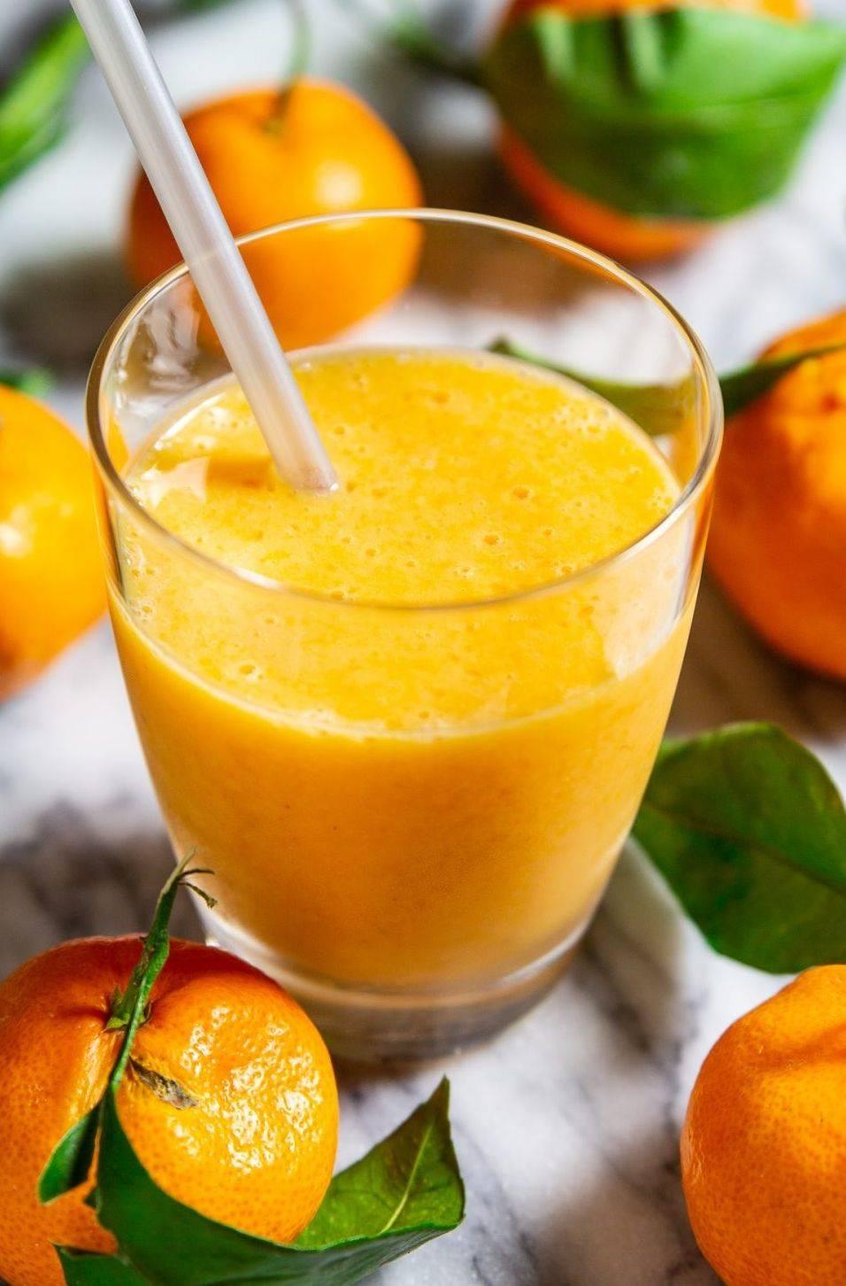 Цитрусовый смузи - 45 рецептов: смузи | foodini