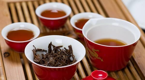 Китайский красный чай: свойства и разновидности