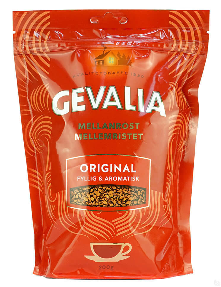 Кофе Gevalia