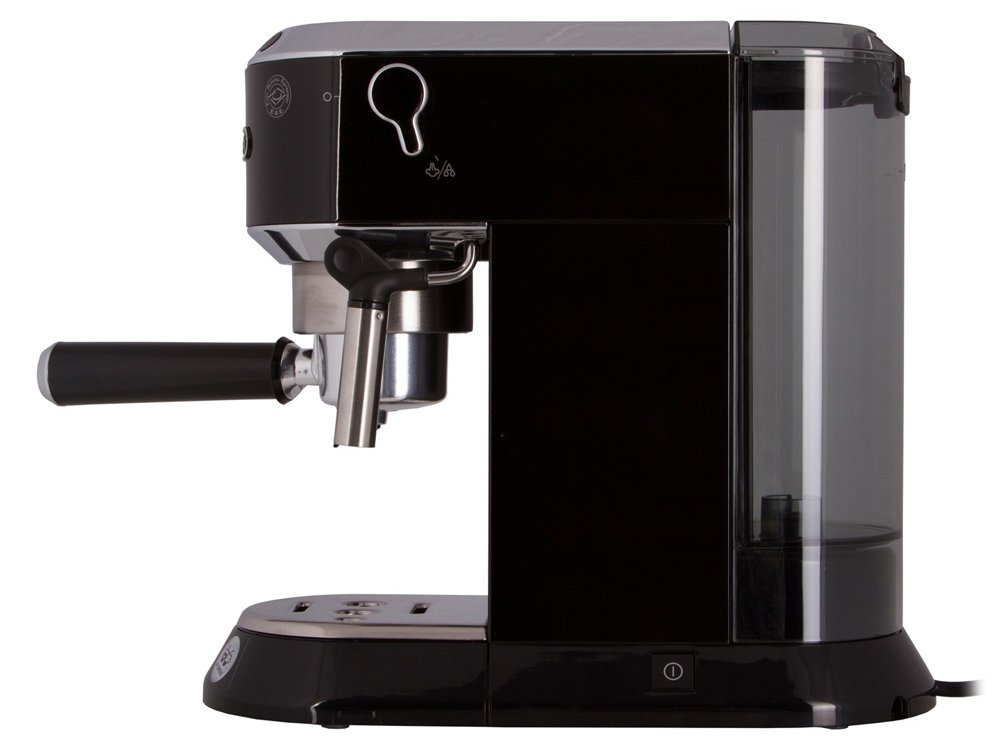 Рожковая кофеварка delonghi scultura ecz 351.bk