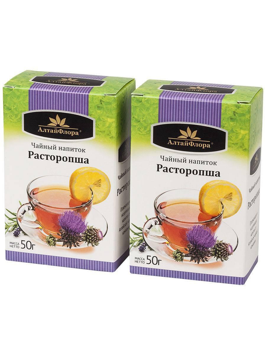Свойства чая с расторопшей и противопоказания