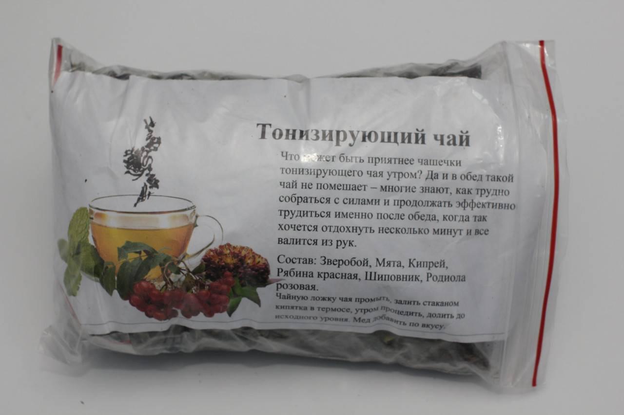 Лечебный и тонизирующий чай из трав