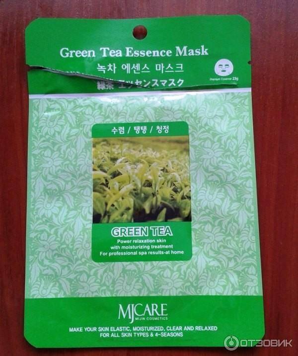 Зеленый чай для кожи лица — красивое лицо