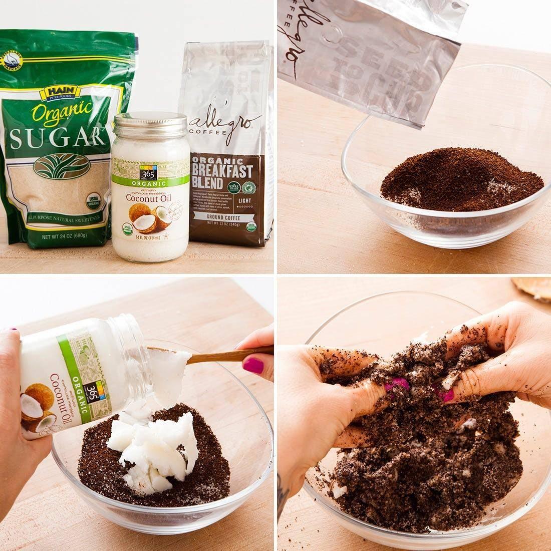 Кофейный скраб, польза и вред, рецепты в домашних условиях