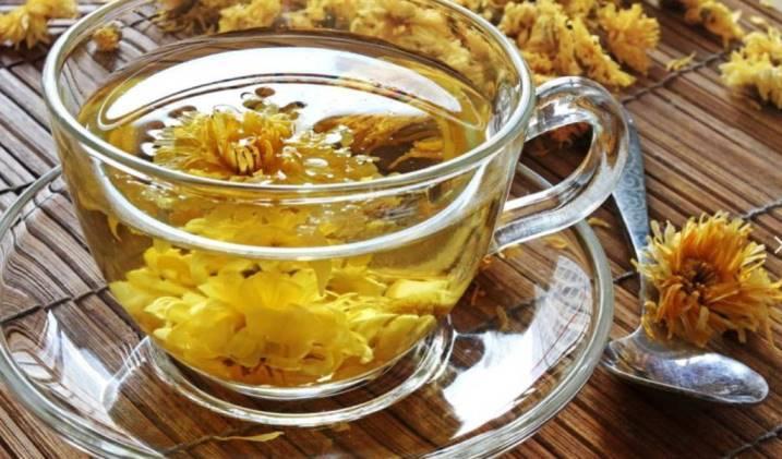 Чай с хризантемой