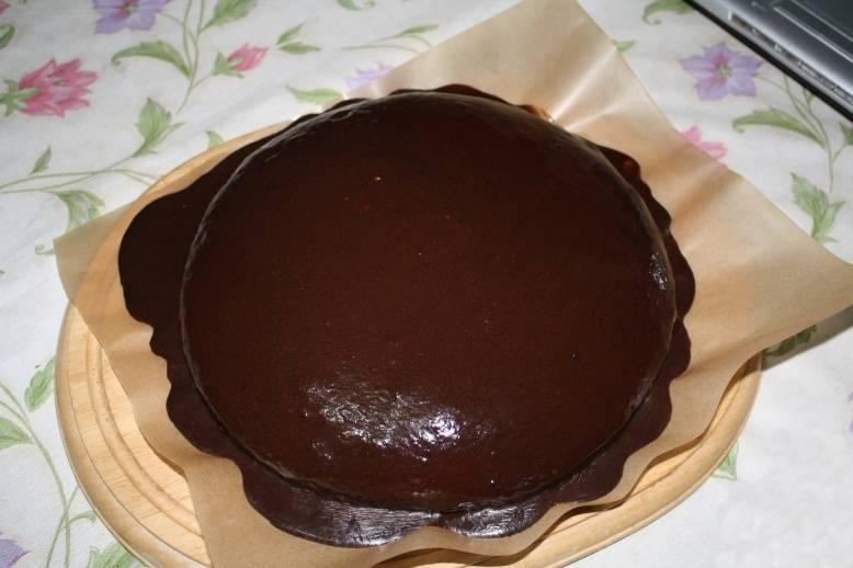 Шоколадная глазурь, которая застывает как шоколад