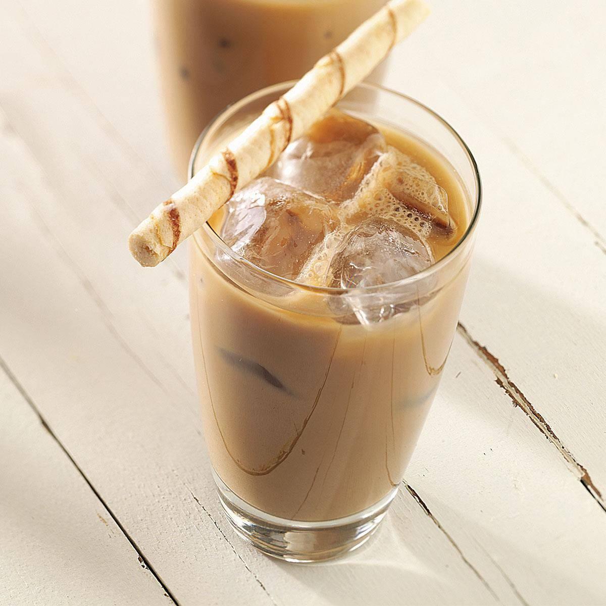 Айс кофе с соком