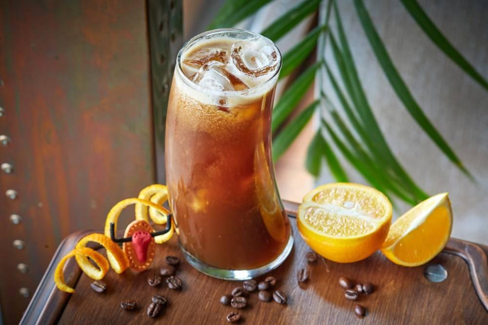 Холодный кофе с апельсиновым соком: рецепт | наше місто