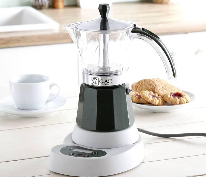 Гейзерная кофеварка: принцип работы электрической, как выбрать