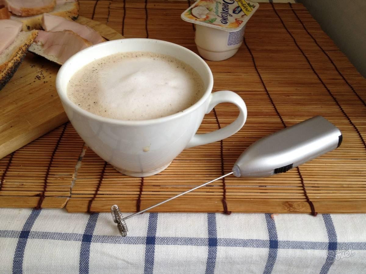 Как приготовить капучино дома или 7 ошибок при взбивании молока