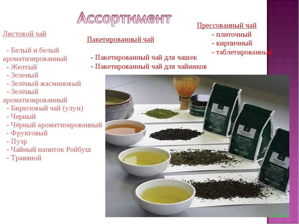Чай листовой: разновидности, как заваривать и какой лучше