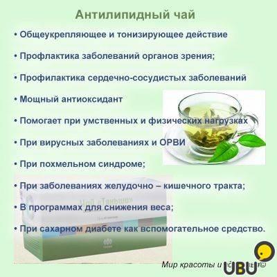 Чай тяньши (антилипидный): инструкция по применению, противопоказания, отзывы