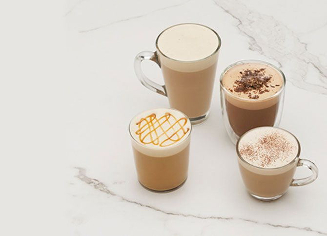 Чем отличаются кофейные напитки: латте и капучино. ищем отличия между данными видами кофе