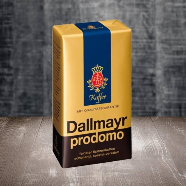 Кофе в зёрнах dallmayr crema d'oro 0.5 кг