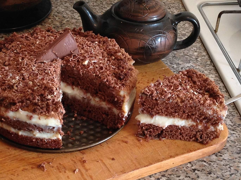 Торты с какао