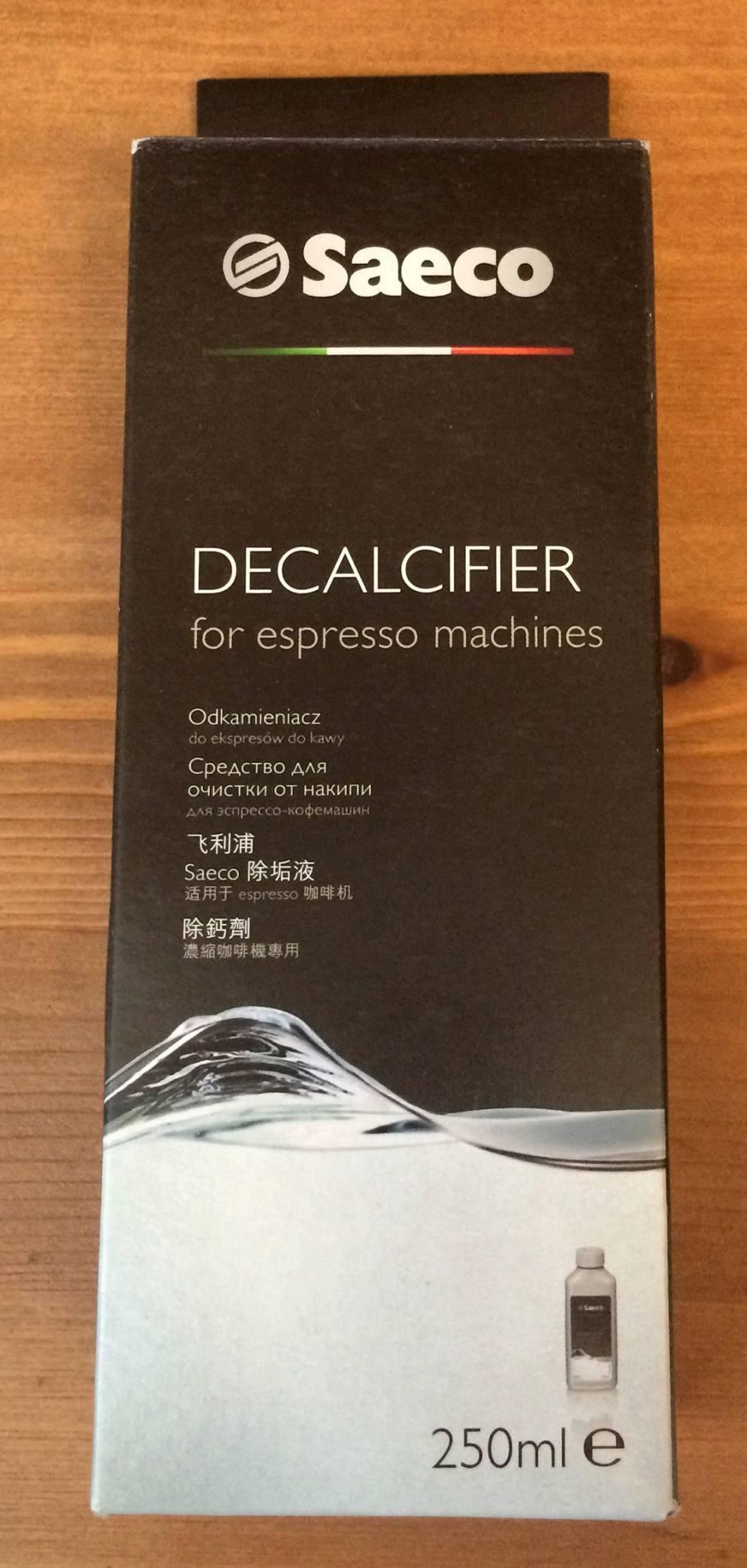 Средства от накипи для кофемашины: обзор лучших средств