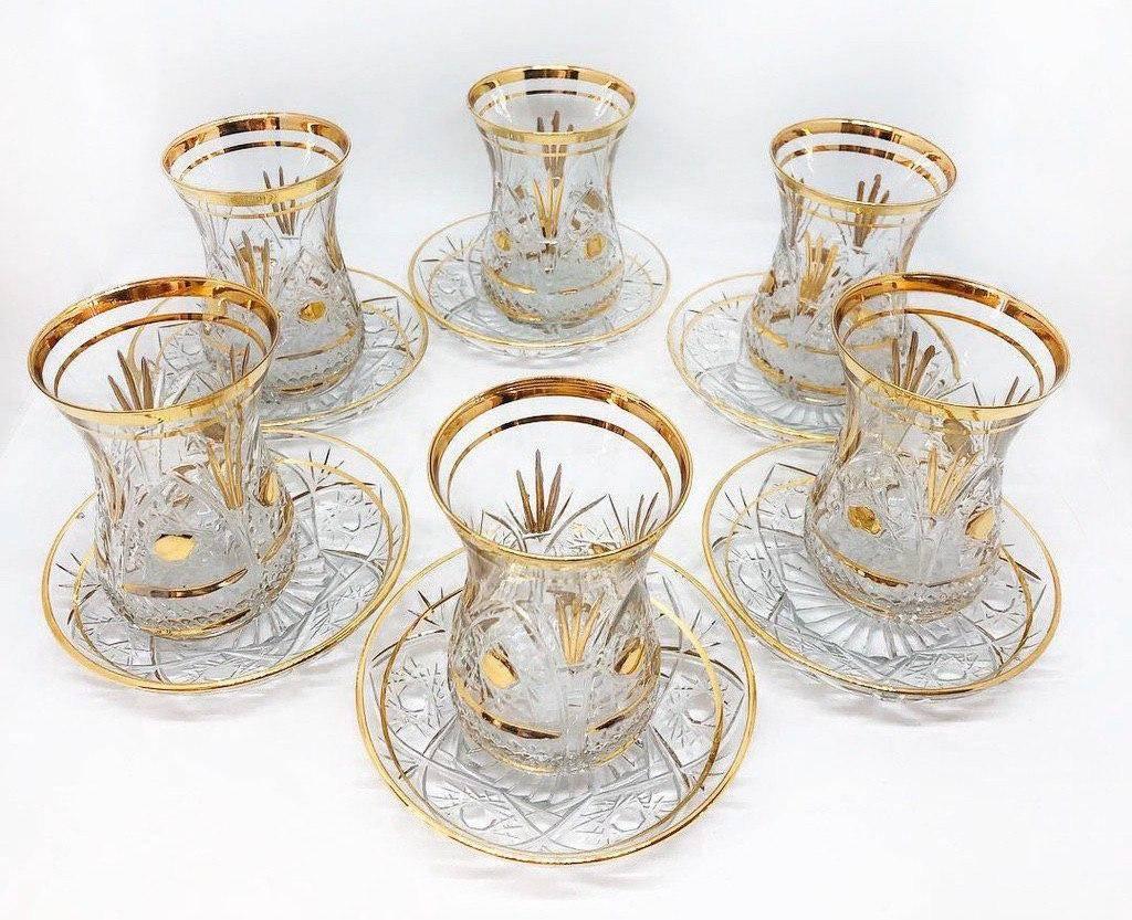 Армуды для чая, турецкие стеклянные чашки и стаканы для чая