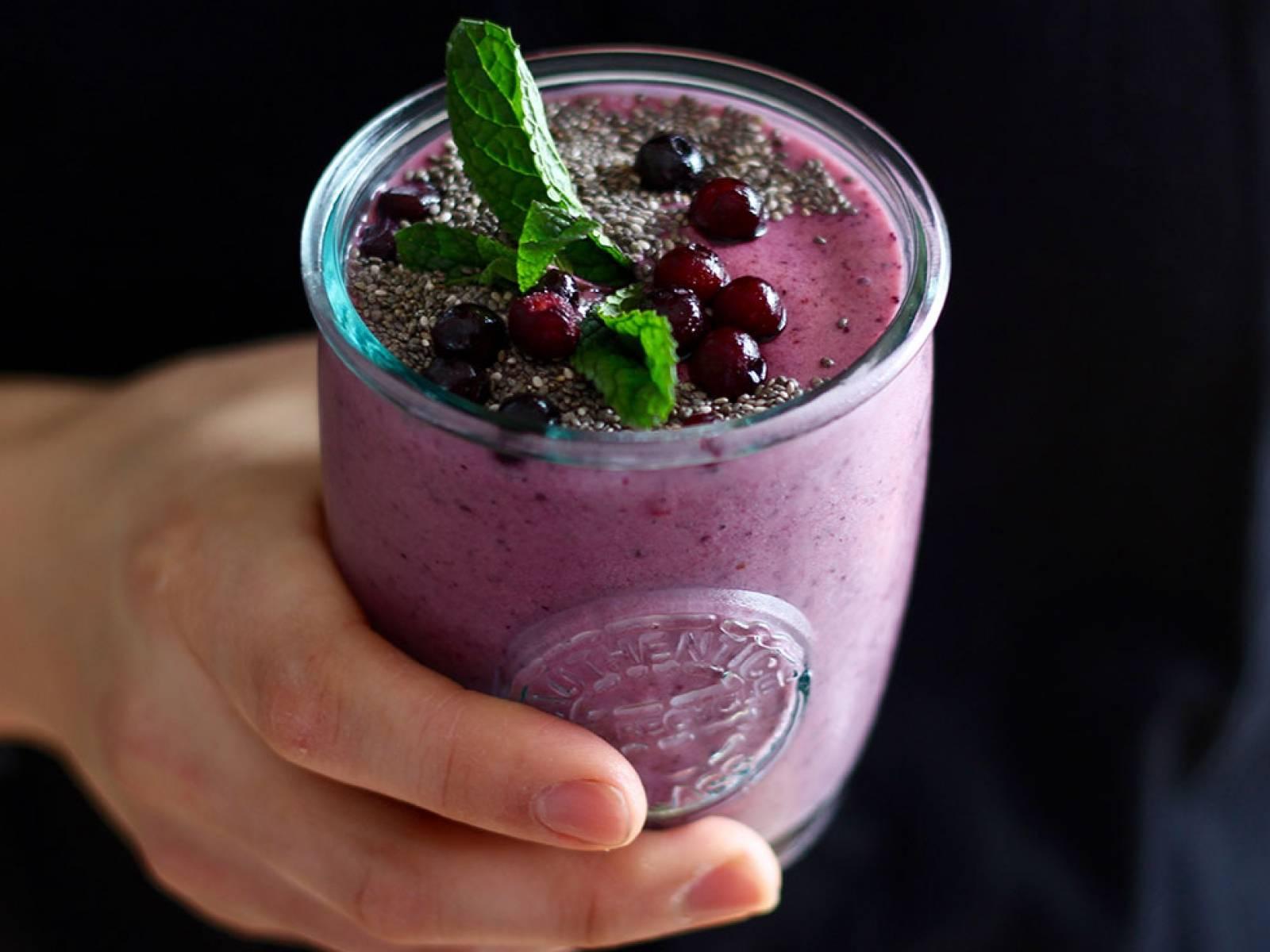 Клубничный смузи- рецепты приготовления коктейлей из клубники