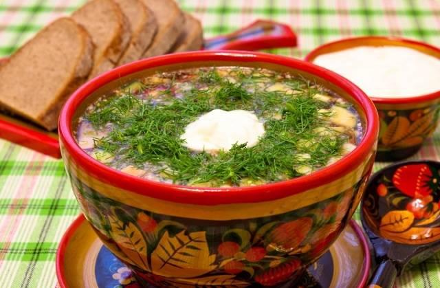 Окрошка на квасе с колбасой: 5 классических рецептов вкусной окрошки - советдня