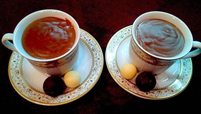 """Горячий шоколад """"зимний вечер"""" - пошаговый рецепт приготовления с фото"""