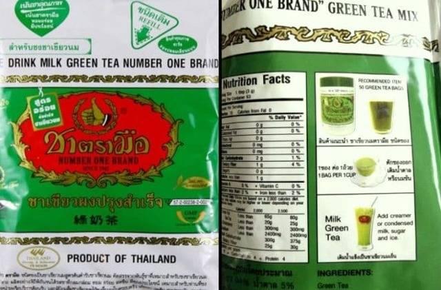 Тайский зеленый чай с молоком - как приготовить изумрудный чай