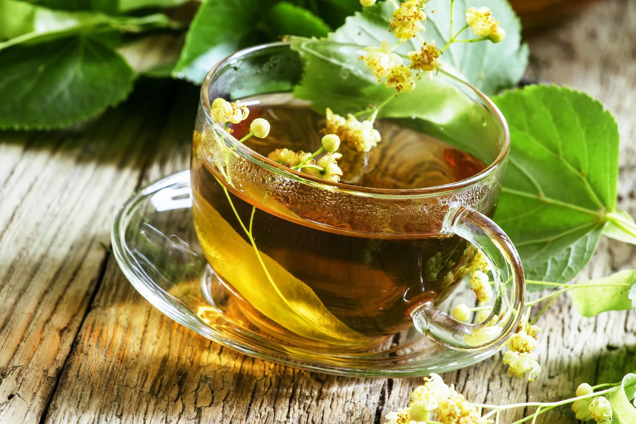 Липовый чай при простудных заболеваниях и гриппе