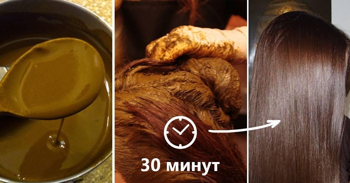 Окрашивание волос с помощью кофе