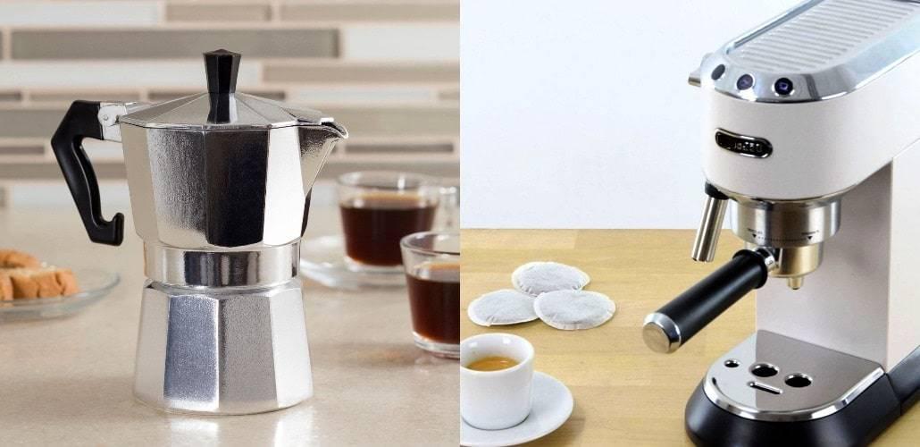 Какую кофеварку выбрать для дома: капельную или рожковую