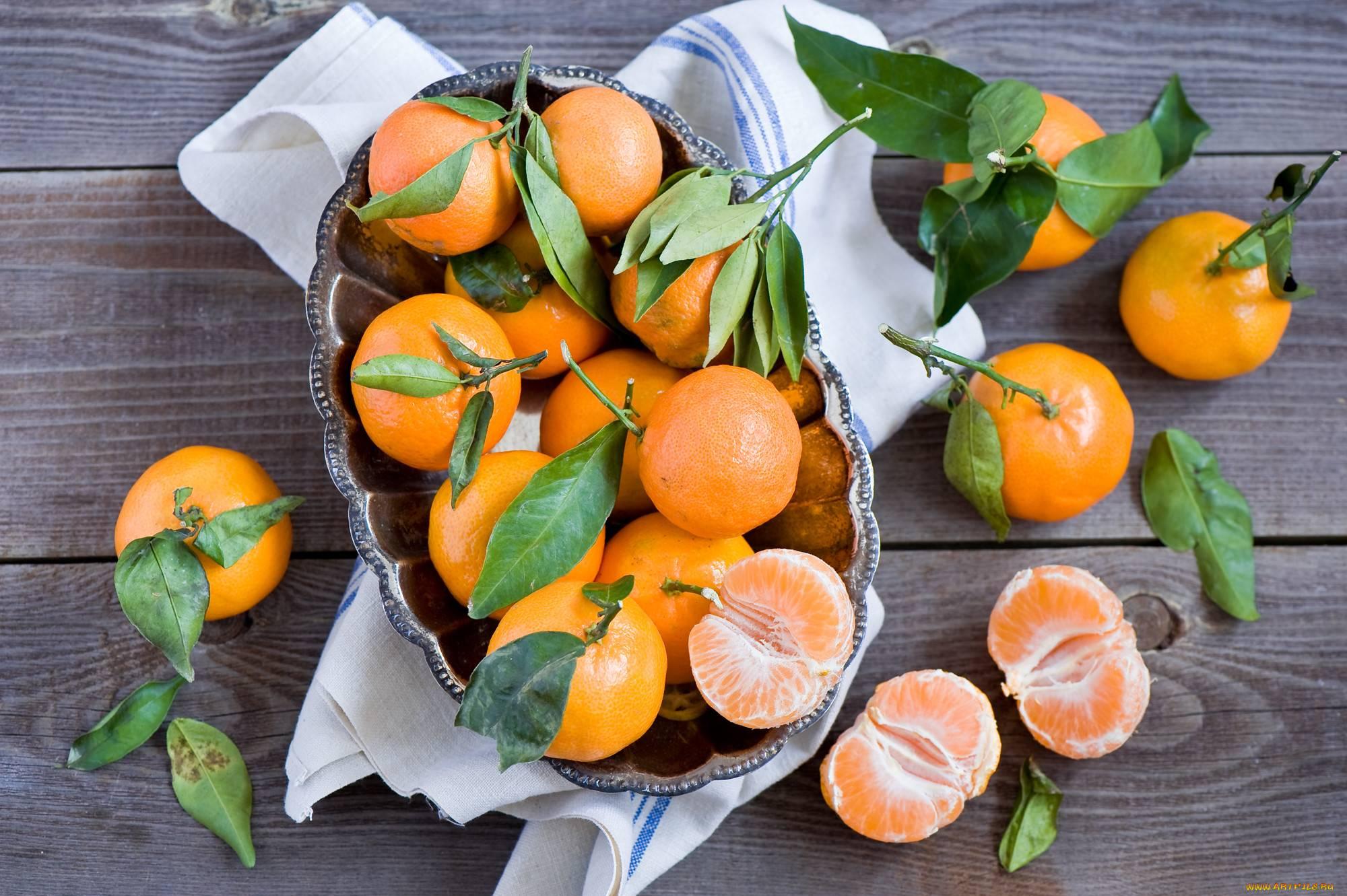 Кожура мандарина: польза, вред, применение