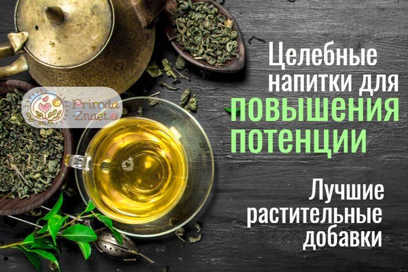 Травы для повышения потенции у мужчин - список самых эффективных сборов, настоек и чаев