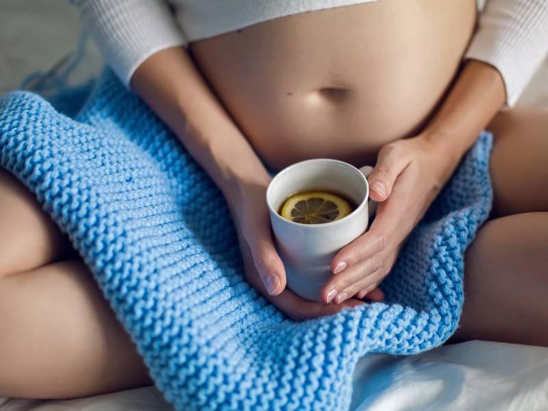 Чай с мелиссой при беременности и грудном вскармливании