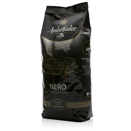 Кофе в зернах ambassador gold label 1 кг.