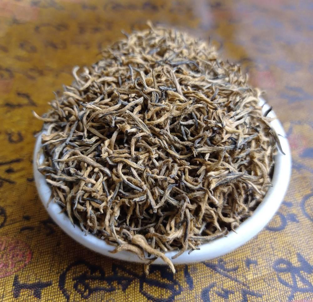 """Купить красный китайский чай """"цзинь цзюнь мэй"""" (золотые брови) 50г. в москве   доставка, самовывоз"""