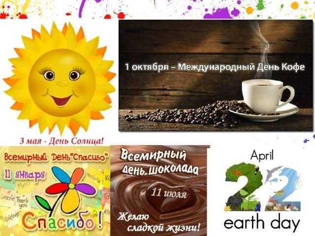 Когда празднуют международный день кофе?