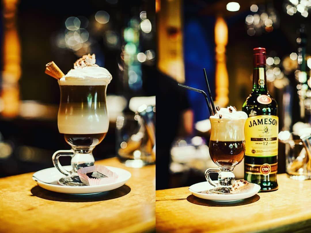 Коктейль кофе,кола, водка