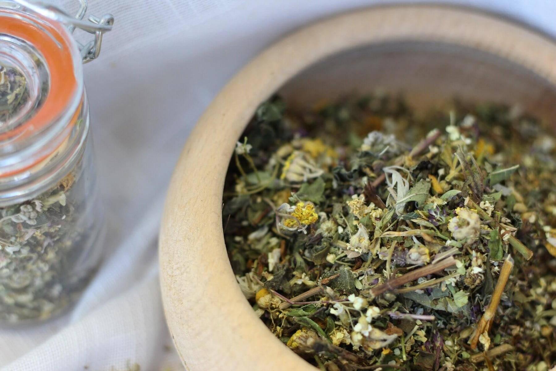 Польза для здоровья от чая с полынью ~ радуга