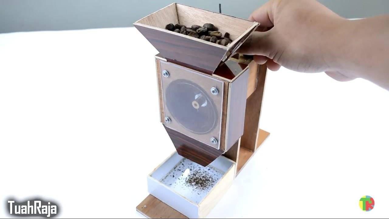 Как сделать кофемолку своими руками