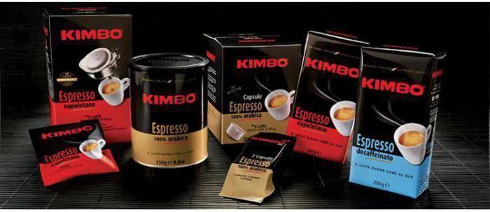 Кофе «кимбо»