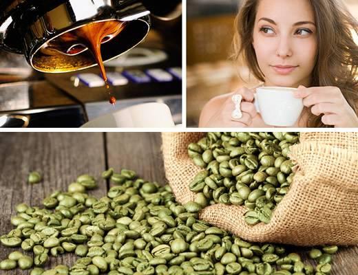 Как приготовить зеленый кофе для похудения