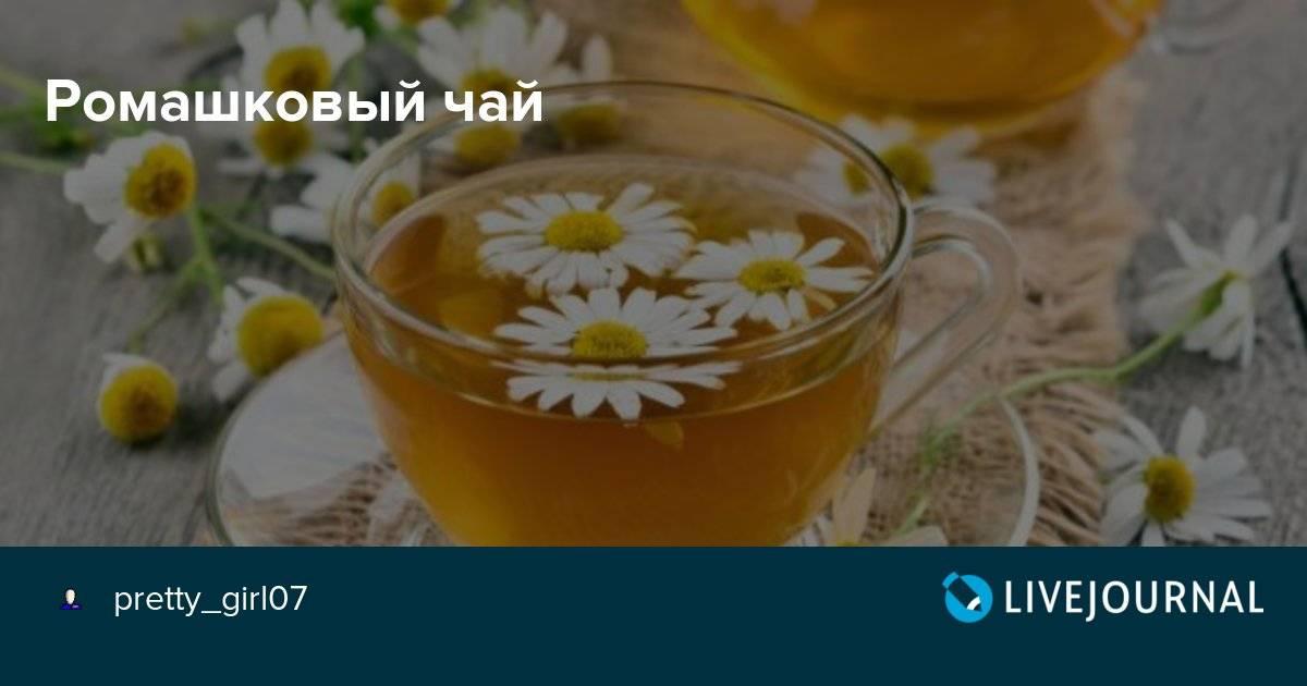 Ромашковый чай польза и вред для мужчин, женщин и детей. знание !